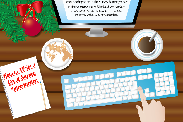 Season's Greetings! How to Write a Great Survey Introduction