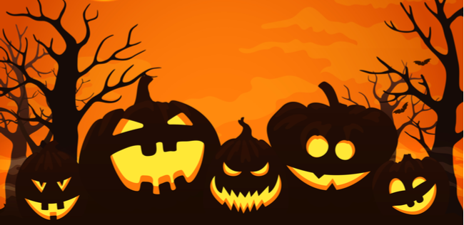 halloween pumpkins graphic