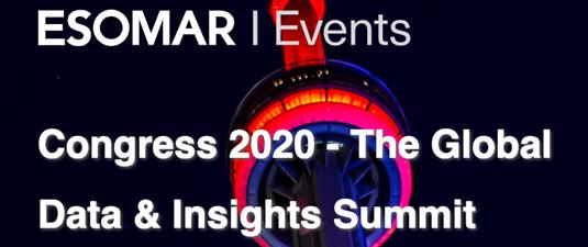 ESOMAR Congress 2020
